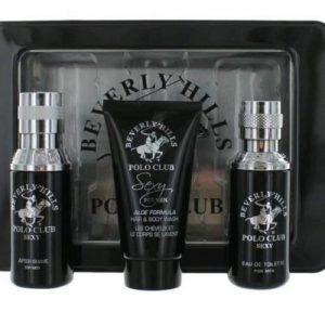 Beverly Hills Polo Club Sexy for Men 3 Pieces Gift Set
