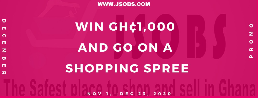 Giveaway 1000 cedis | Jsobs