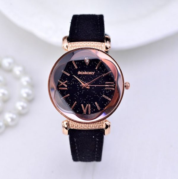 New Fashion Gogoey Brand Rose Gold Leather Watches Women ladies casual dress quartz wristwatch reloj mujer e1603716603876 | Jsobs