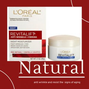 anti wrinkle and resist the signs of aging