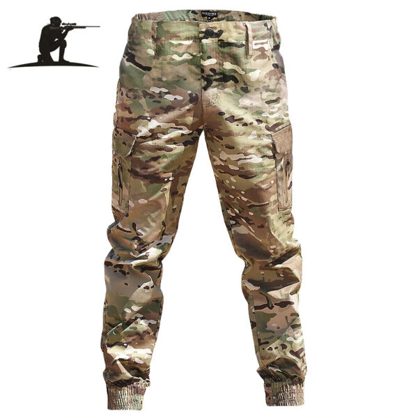 Men Camouflage Tactical Military Trousers