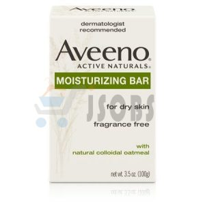 aveeno positively radaint brrightening cleanser. bar 3 | Jsobs
